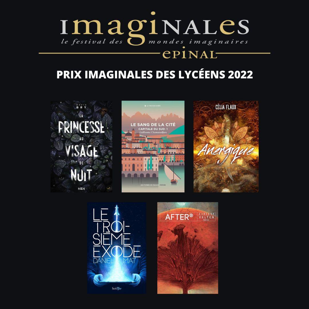 Anergique sélectionné pour le PrixImaginales des Lycéens